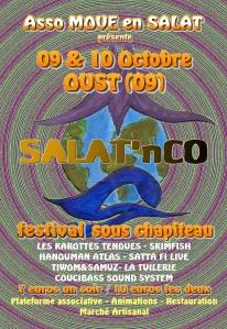 Affiche festival Salat'n co 2009 - recto